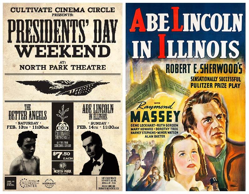 Resultado de imagem para abe lincoln in illinois poster 1940
