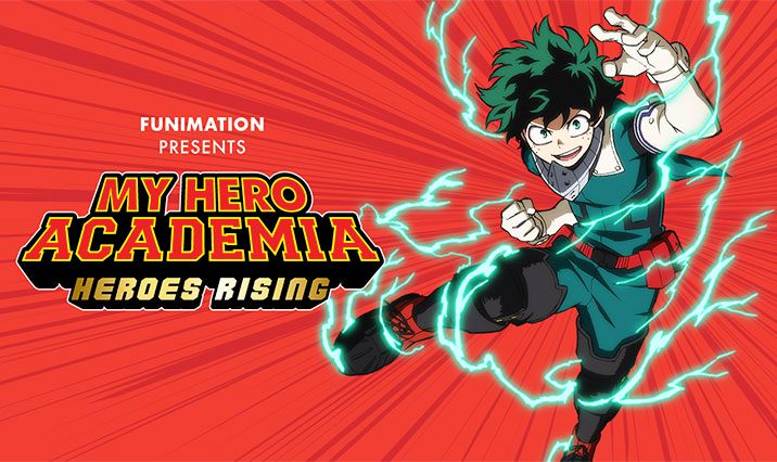My Hero Academia Heroes Rising English Version North Park Theatre